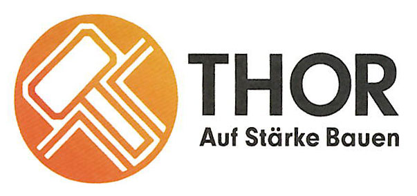 """Logo """"Thor - Auf Stärke Bauen"""""""