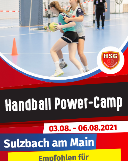 Handball Power-Camp in Sulzbach!