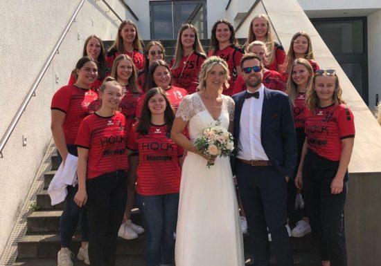Hochzeit unserer Damentrainerin