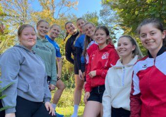 Trainingslager der Damen